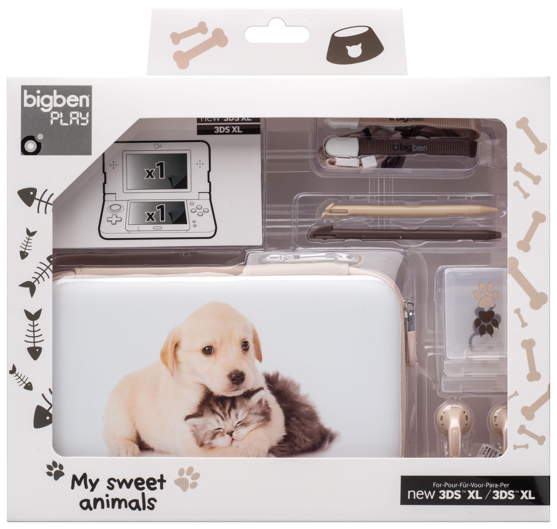 Pack my sweet animals bigben us bigben audio for Housse nintendo 2ds