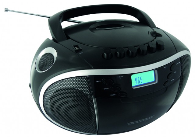 Radio CD Player/USB/MP3/K7 (Black) - Packshot
