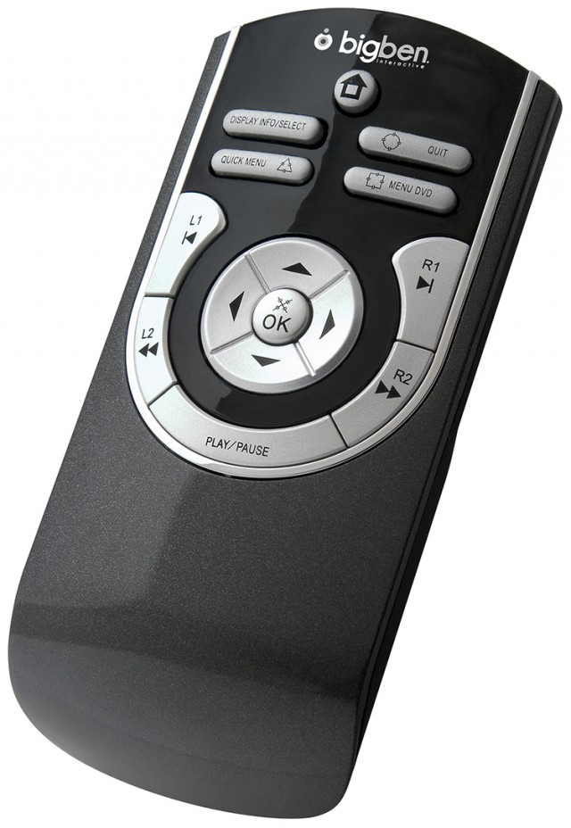 Blu-Ray Remote - Packshot