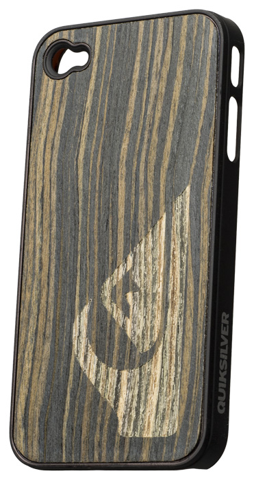 Quiksilver brown wood hard case for iPhone® 4/4S - Packshot