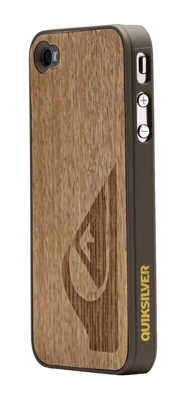 quiksilver clear wood hard case for iphone 4 4s bigben us bigben audio gaming. Black Bedroom Furniture Sets. Home Design Ideas