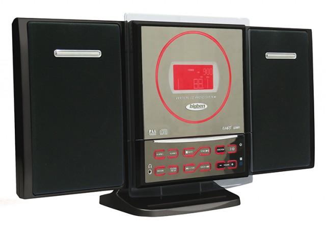 CD15 Compact Hi-Fi System (Red LCD) - Packshot
