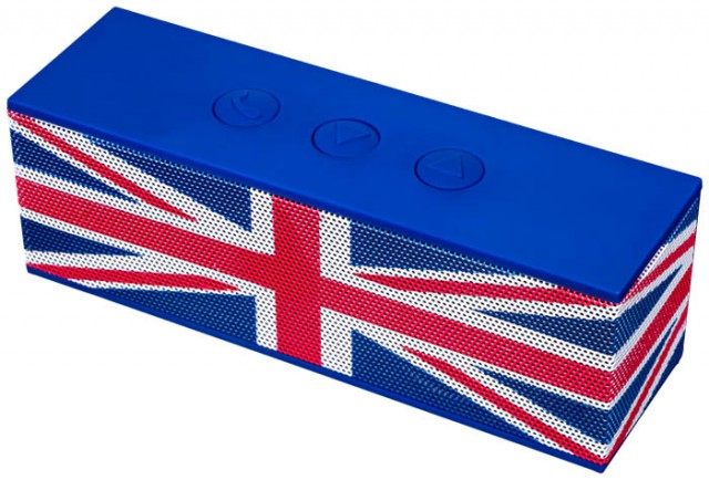 """Nomad"" Bluetooth® Speaker ""Union Jack"" - Packshot #1"