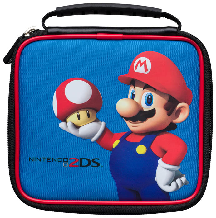 Official mario pouch bigben us bigben audio for Housse 2ds bigben