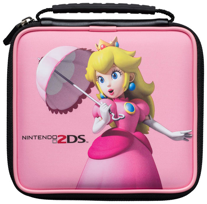 Official mario pouch bigben us bigben audio for Housse 3ds xl reine des neiges