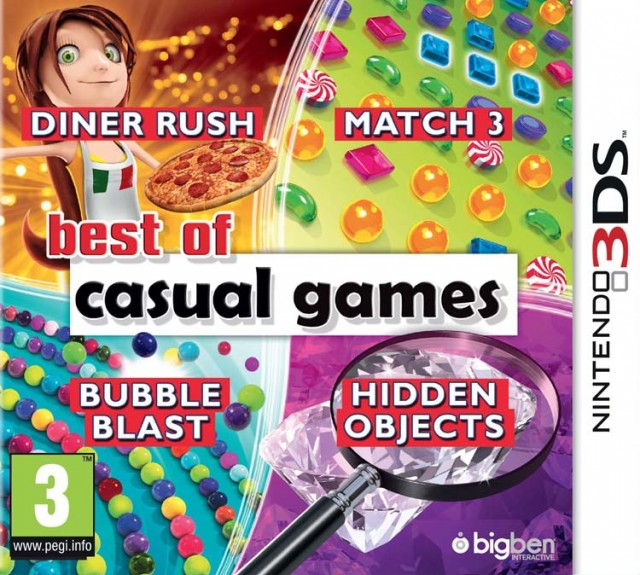 Best of Casual Games - Packshot