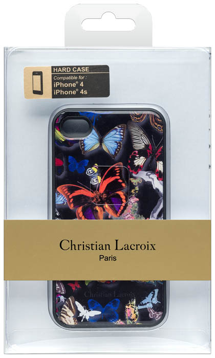 Christian lacroix hard case butterfly parade oscuro bigben us bigben - Christian lacroix accessories ...