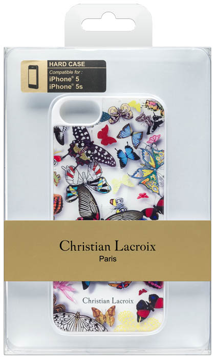 Christian lacroix hard case butterfly parade opalin bigben us bigben - Christian lacroix accessories ...