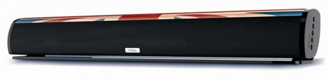 "Multimedia wireless sound bar ""UK"" - Packshot"