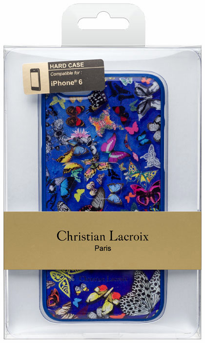 Christian lacroix hard case butterfly parade cobalt bigben us bigben - Christian lacroix accessories ...
