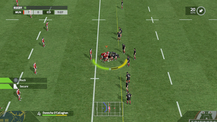 RUGBY 15 – Screenshot