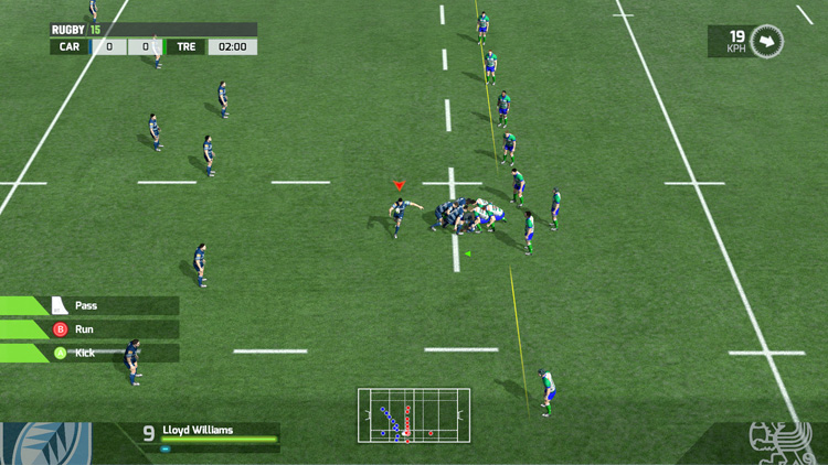 RUGBY 15 – Screenshot #1
