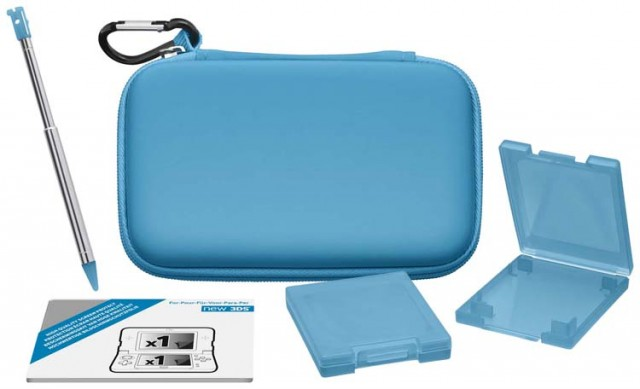 "Accessories ""Starter"" pack for Nintendo New 3DS - Packshot"