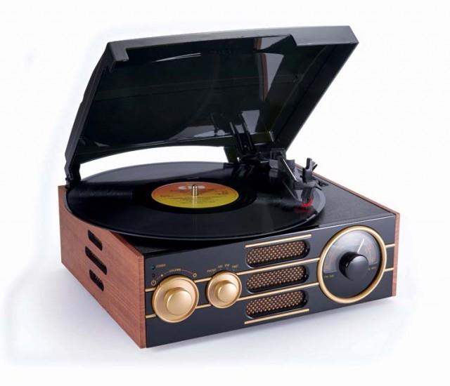 """Art Deco"" Turntable - Packshot"