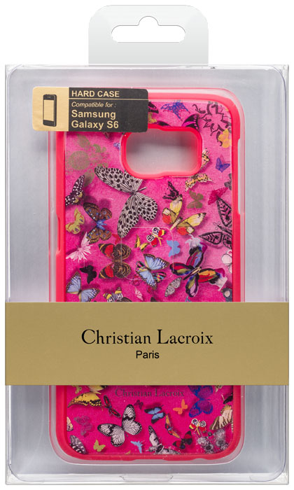 Christian lacroix hard case butterfly parade grenadine bigben us bigb - Christian lacroix accessories ...