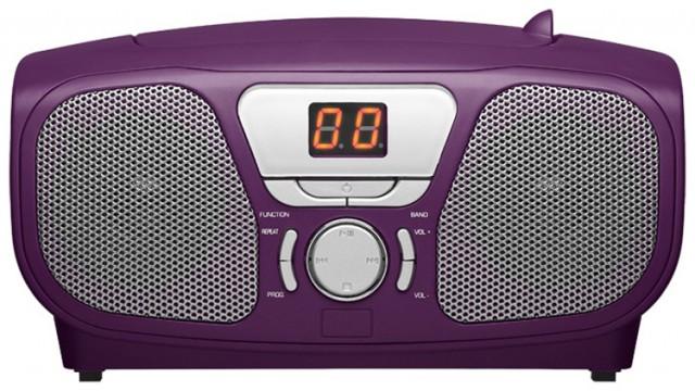 "CD Player Stick"" (Purple) "" - Packshot"