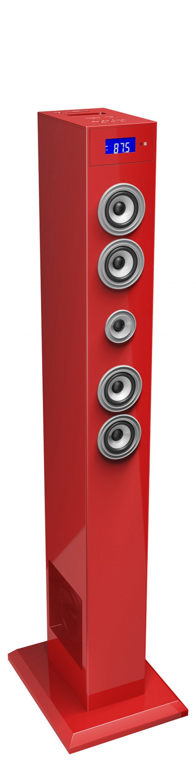 Multimedia tower with adaptador Bluetooth (Red) - Packshot