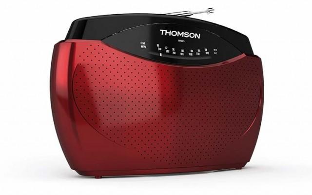 Portable Radio (Red) - Packshot