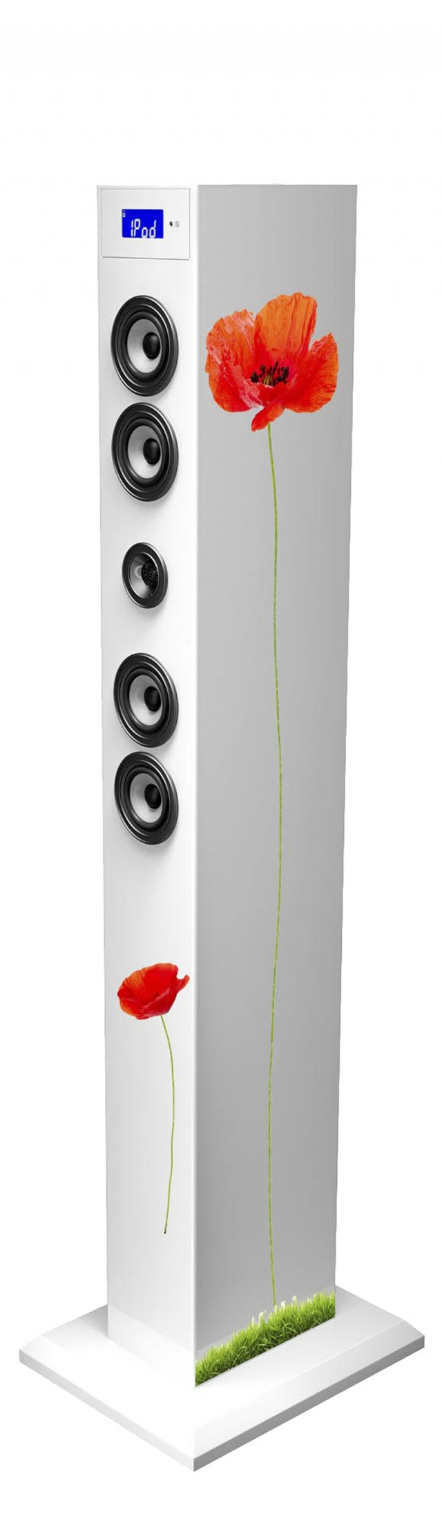 Multimedia tower with adaptador Bluetooth (Floral) - Packshot