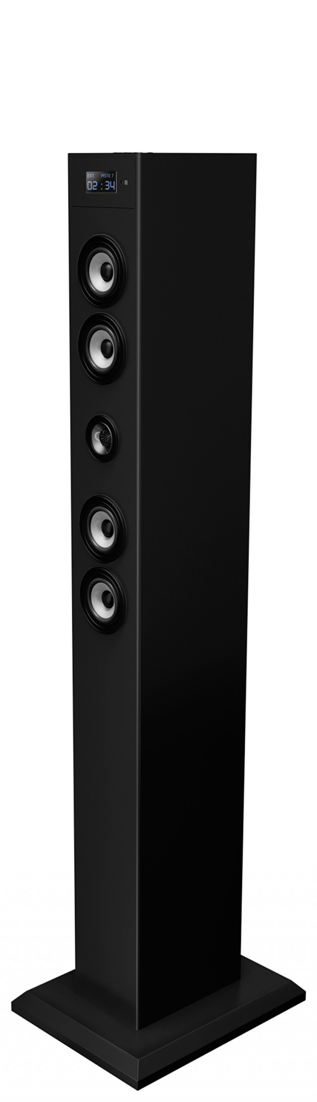 Multimedia tower with adaptador Bluetooth (Black) - Packshot