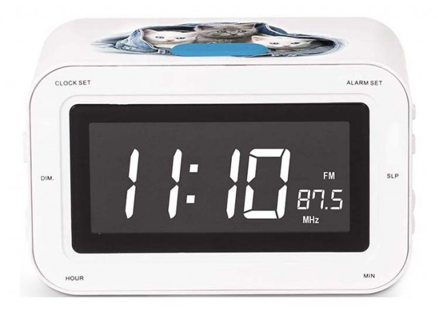 RR30 Clock Radio (Kitties) – Image