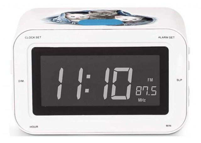 RR30 Clock Radio (Kitties) – Image   #1