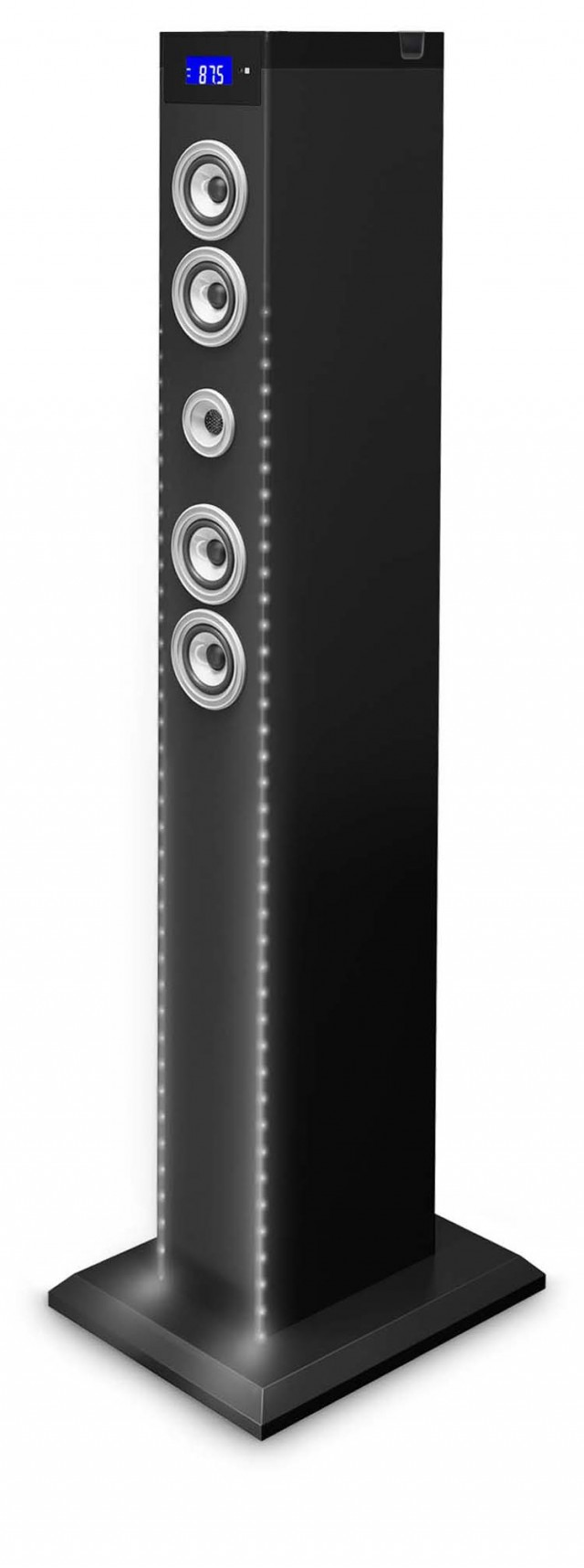 "Multimedia Tower Equalizer"" (Black)"" - Packshot"
