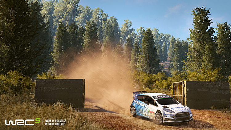WRC 5 – Screenshot #3