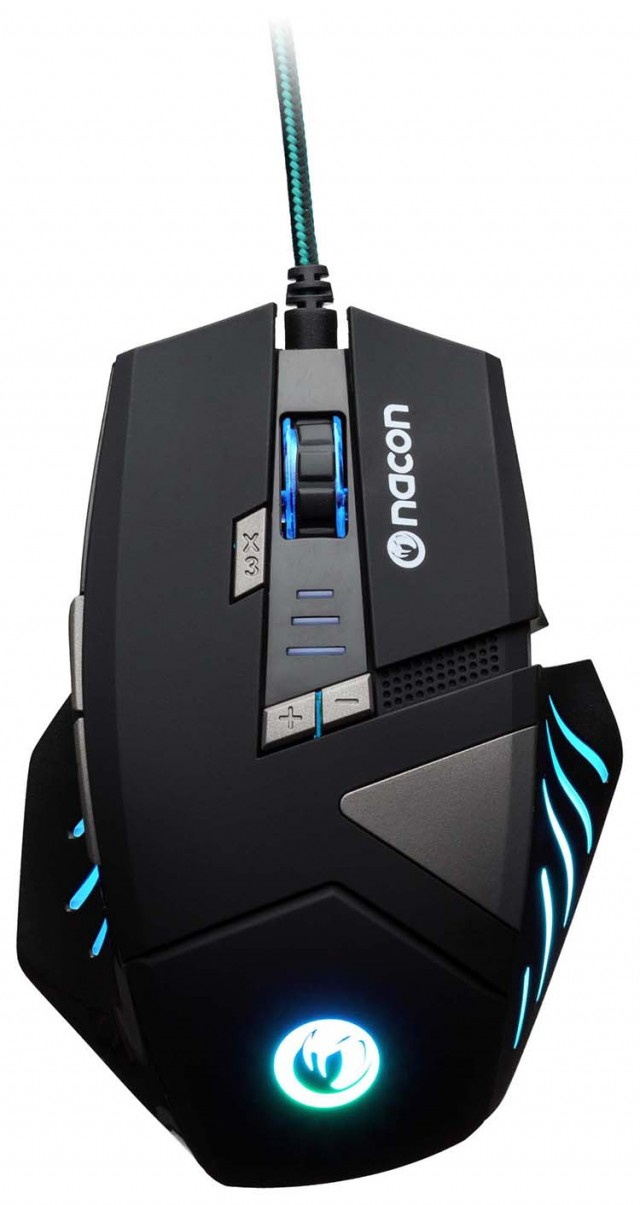 NACON Gaming Mouse with Optical Sensor – Packshot