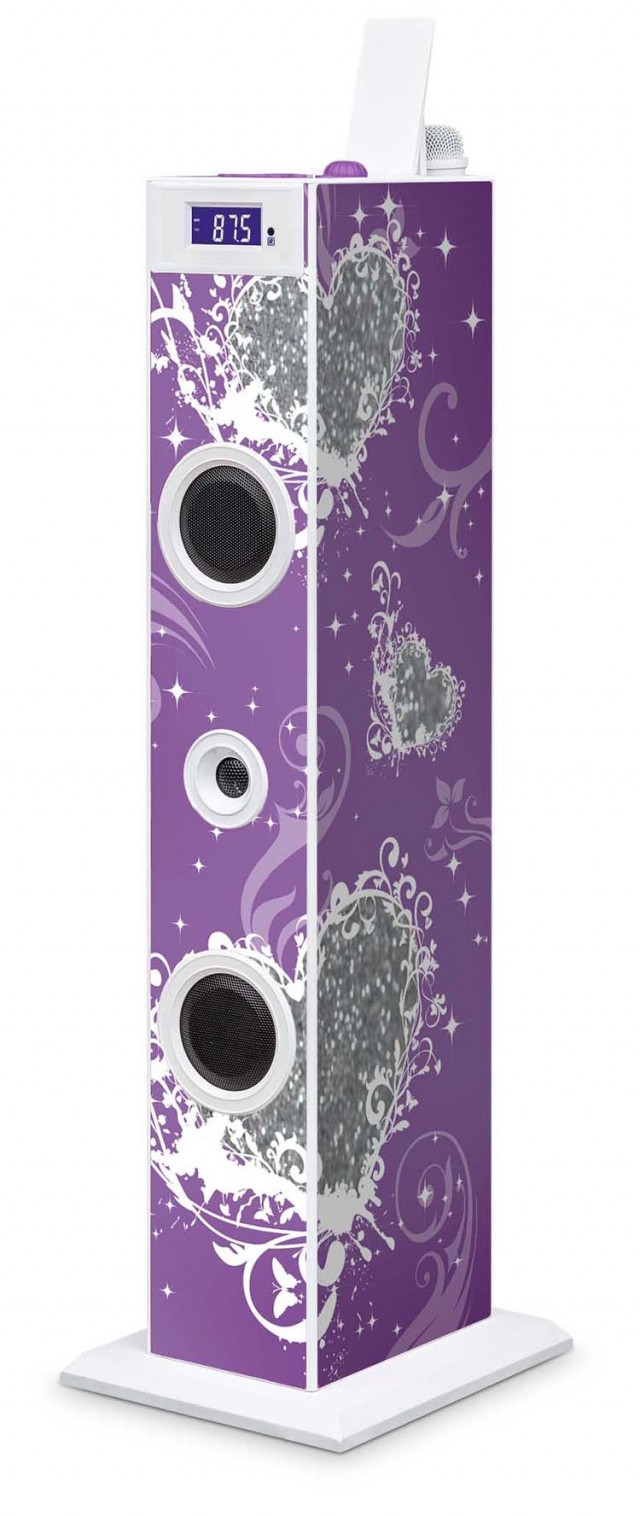 Multimedia Tower Glitter (Purple) - Packshot