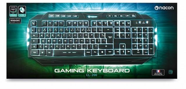 NACON Gaming keyboard with macro keys and backlighting – Image   #1