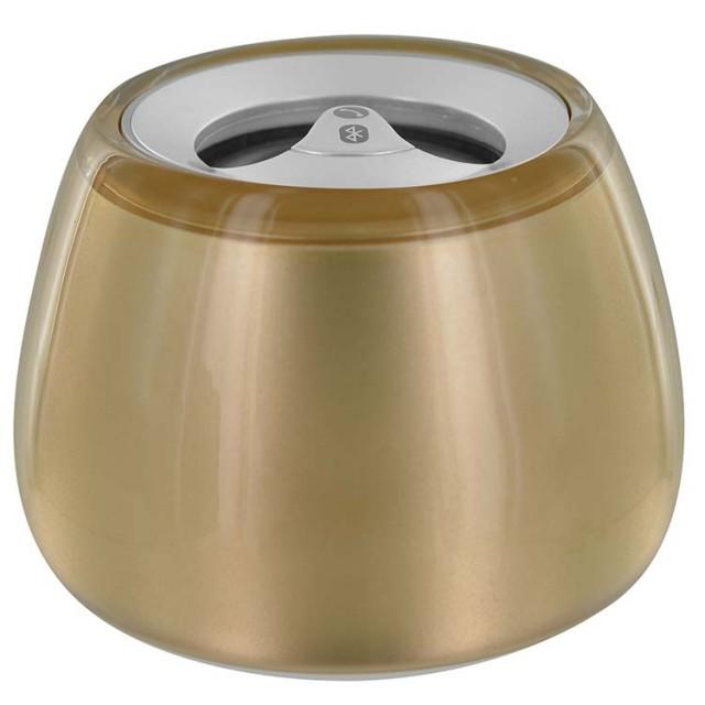 Mini Bluetooth® Speaker Bubble (Gold) - Packshot