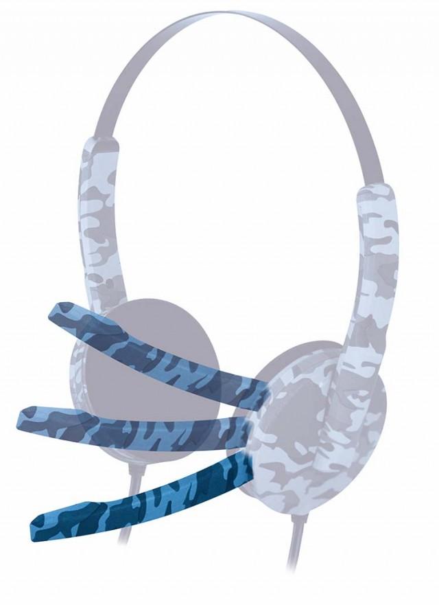 PS4 headset Camo (Blue) – Image