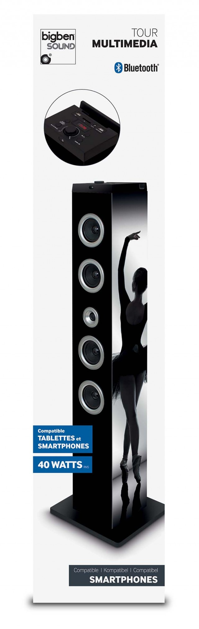 Multimedia Tower Ballerina – Image   #1