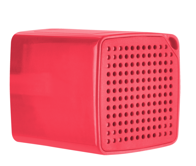 COLORBLOCK Mini Bluetooth® Speaker (Red) – Image