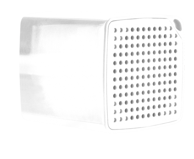 COLORBLOCK Mini Bluetooth® Speaker (White) – Image
