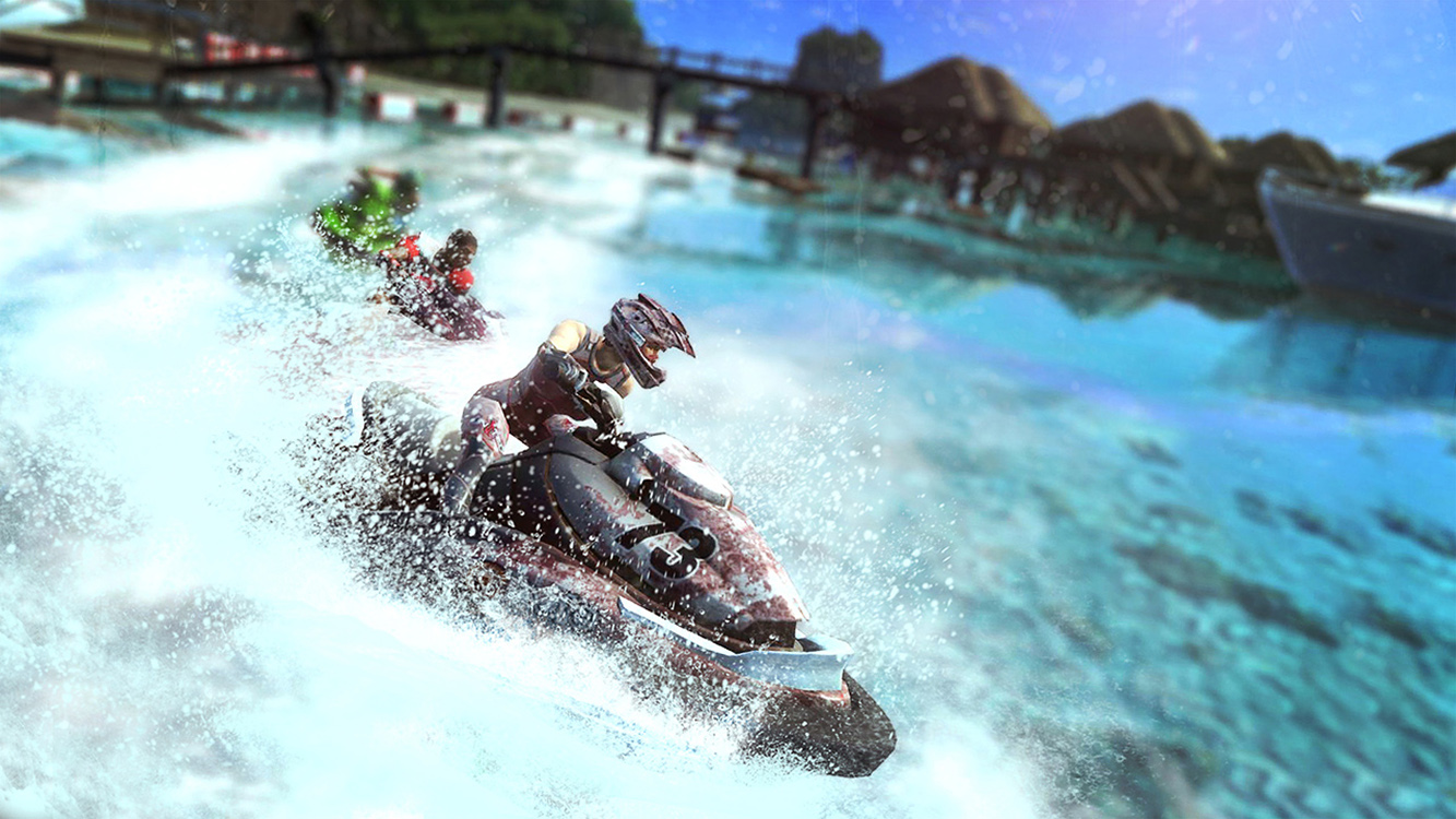 Aqua Moto Racing Utopia – Screenshot#2tutu#3