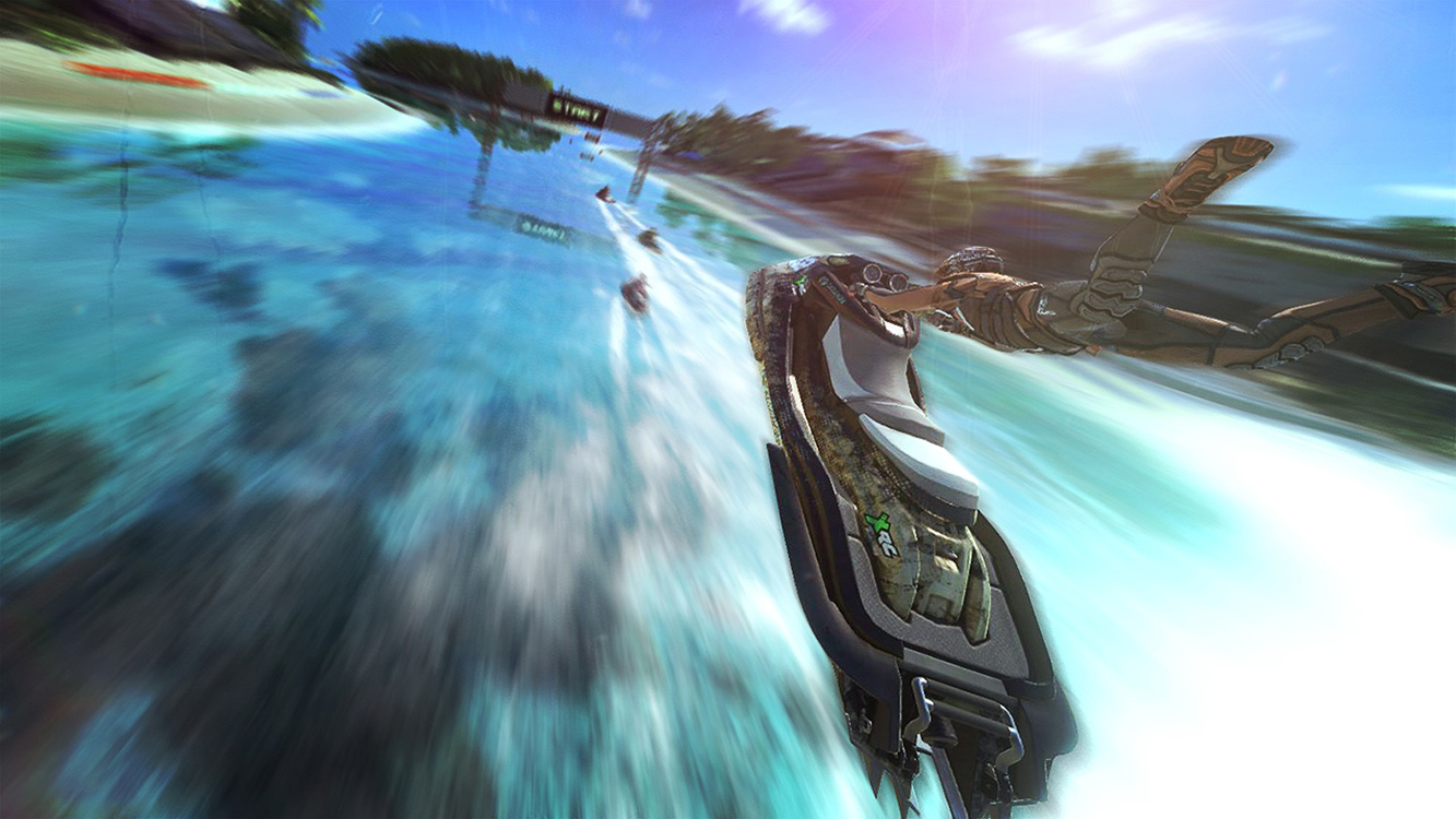 Aqua Moto Racing Utopia – Screenshot