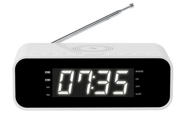 Clock radio with wireless charger CR221I THOMSON - Packshot
