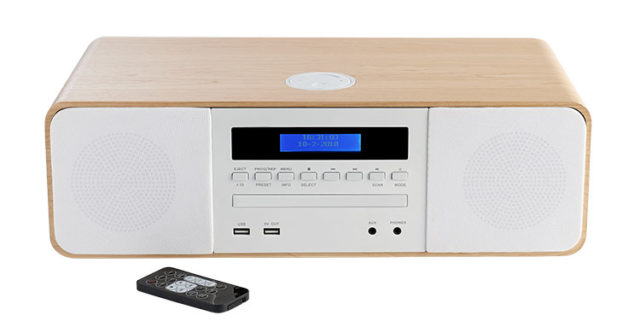 CD/MP3/USB micro system MIC201IBT THOMSON - Packshot