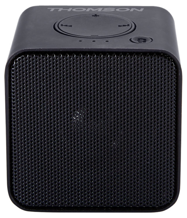 Wireless portable speaker (metallic black) WS01GM THOMSON - Packshot
