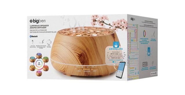 Luminous speaker aroma diffuser BTA01 BIGBEN – Image  #2tutu#4tutu#6tutu#8tutu#10tutu#12tutu#13