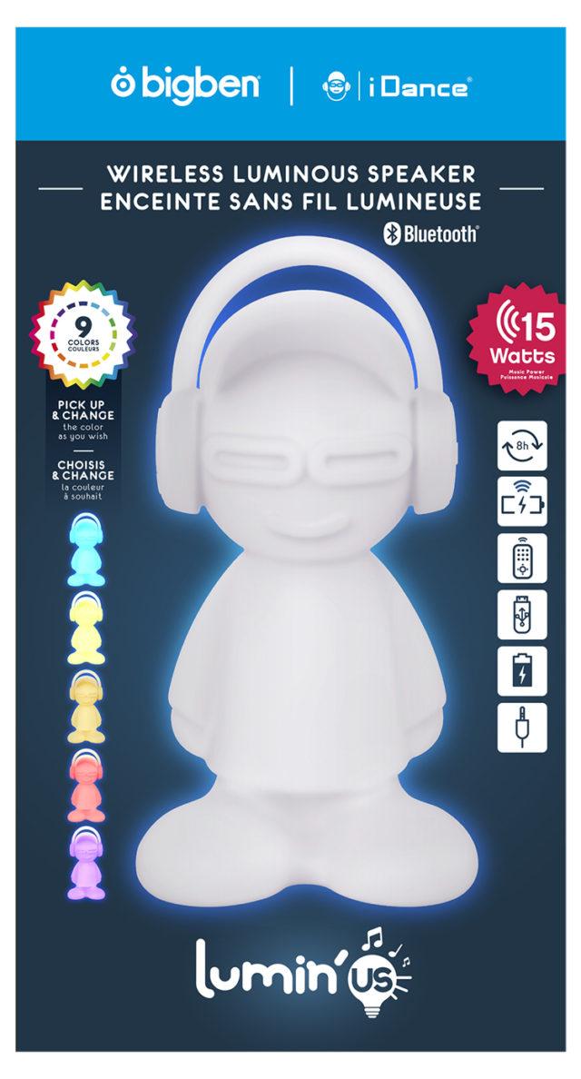 Wireless luminous speaker BTLSDUDE BIGBEN – Image  #2tutu#4tutu#6tutu#8tutu#9
