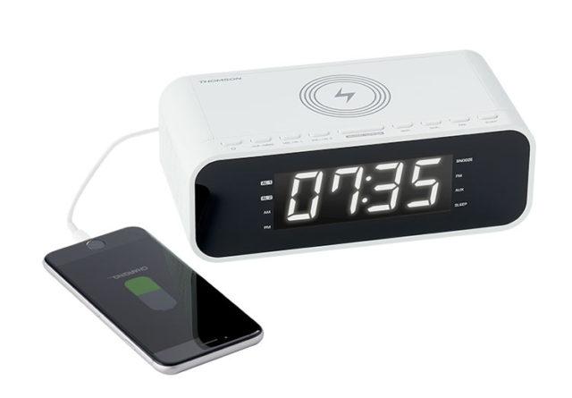 Clock radio with wireless charger CR221I THOMSON – Image  #2tutu#4tutu