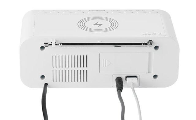 Clock radio with wireless charger CR221I THOMSON – Image  #2tutu#4tutu#5