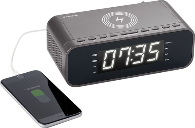 Clock radio with wireless charger CR225I THOMSON – Image  #2tutu#4tutu