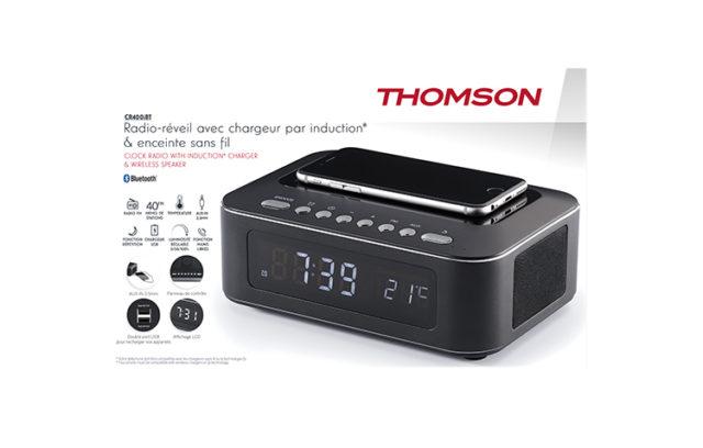 Clock radio with wireless charger CR400IBT THOMSON – Image  #2tutu#4tutu#5