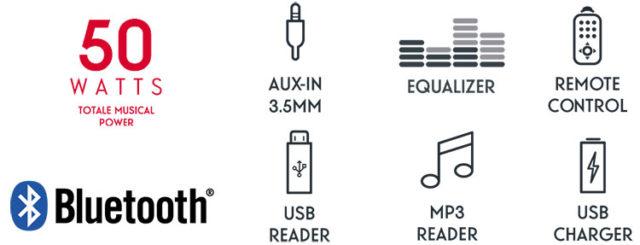 CD/MP3/USB micro system MIC200BT THOMSON – Image  #2tutu