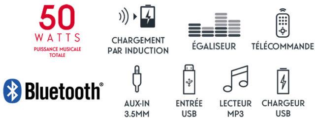 CD/MP3/USB micro system MIC200IBT THOMSON – Image  #2tutu#4tutu#6tutu