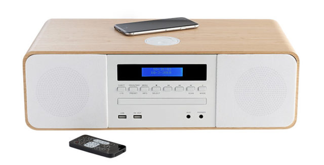 CD/MP3/USB/DAB+ micro system with wireless charger MIC201IDABBT THOMSON – Image
